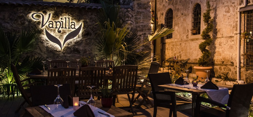 مطعم فانيلا في انطاليا