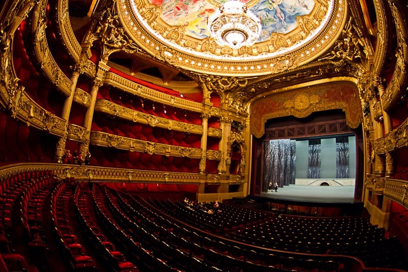 دار اوبرا باريس - قصر غارنييه