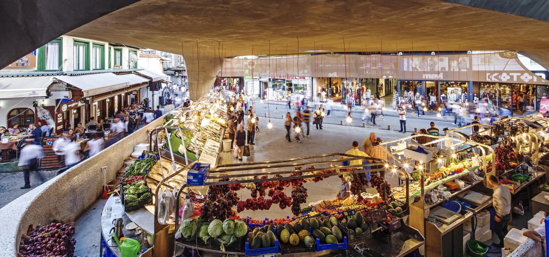 منطقة بشكتاش - سوق السمك