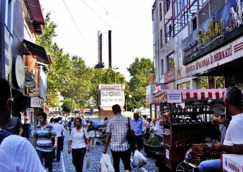 سوق في بشكتاش