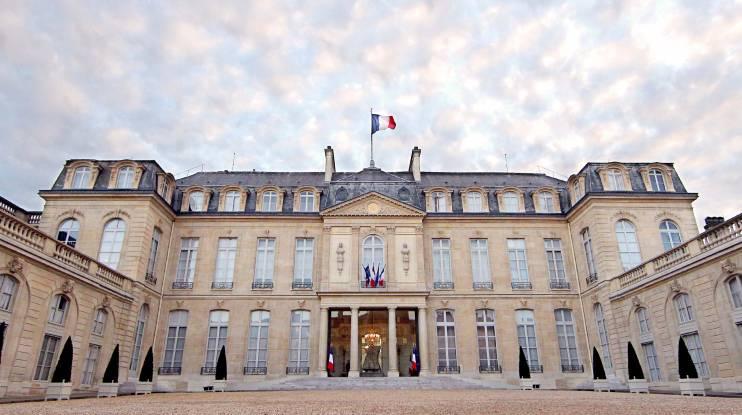 قصور باريس - قصر الاليزيه