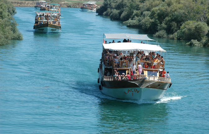 رحلة قارب شلال مانافجات