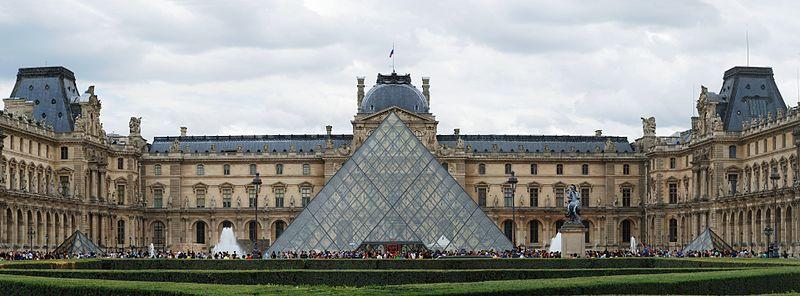 متاحف باريس - هرم اللوفر