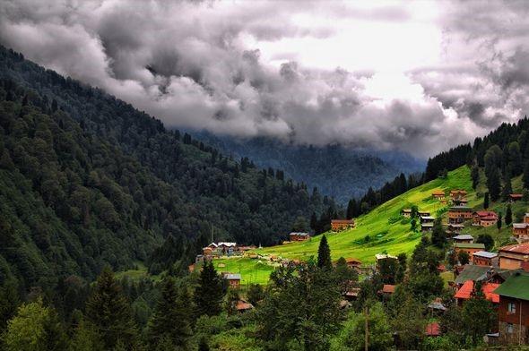 قرية ايدر التركية من افضل اماكن السياحة في تركيا