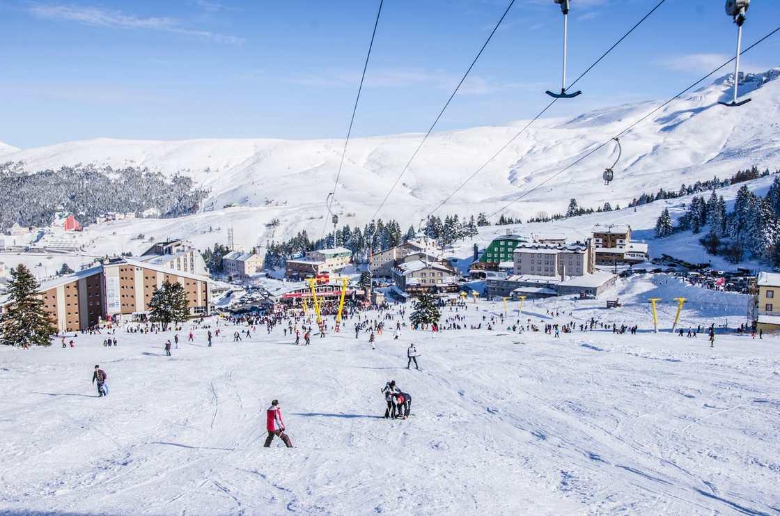 تعرف على جبل اولداغ احدى اجمل اماكن السياحة في بورصة تركيا
