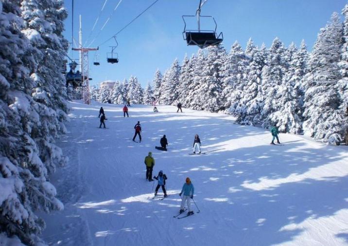 جبل اولداغ احدى اهم معالم بورصة السياحية
