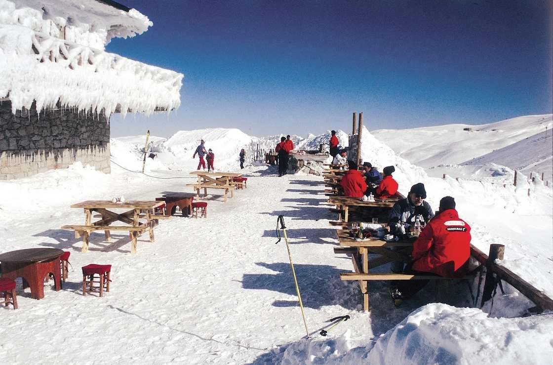 جبل اولوداغ من اجمل الاماكن السياحية في بورصة تركيا