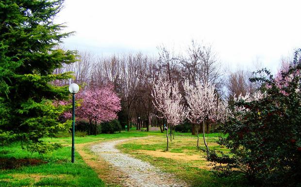 حديقة بوتانيك من اجمل حدائق بورصة تركيا