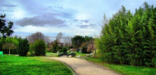حديقة بوتانيك او حديقة الزهور احدى اجمل الاماكن السياحية في بورصة تركيا