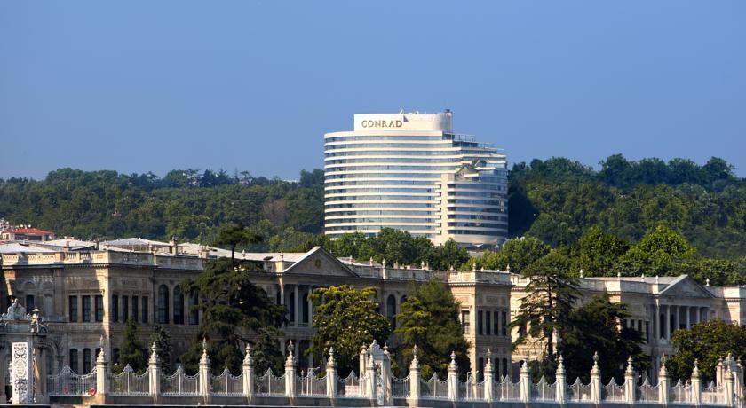 فندق كونراد اسطنبول البوسفور من افضل الفنادق في شيشلي اسطنبول
