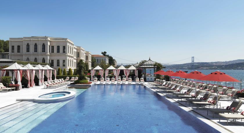 فندق فور سيزونز اسطنبول على مضيق البوسفور يعتبر من افضل فنادق اسطنبول شيشلي