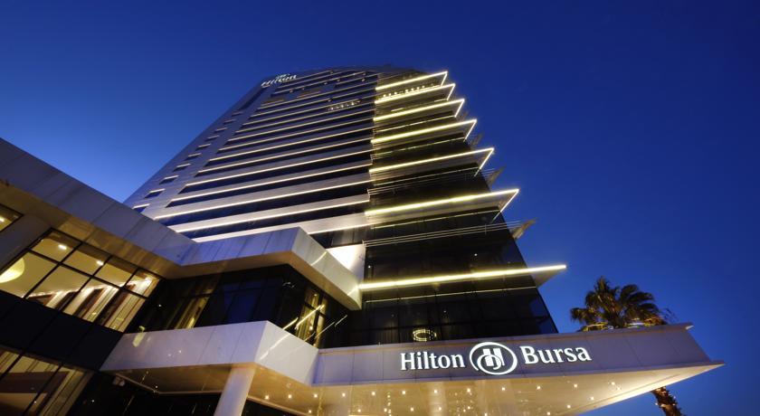 هيلتون بورصة تركيا من افضل فنادق بورصة
