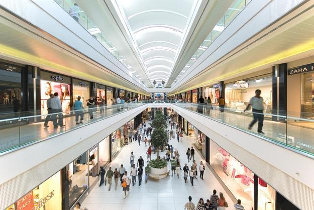 كوروبارك اكبر مركز تسوق في بورصة تركيا