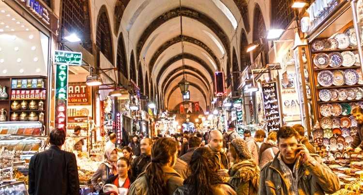 اسواق اسطنبول الشعبية