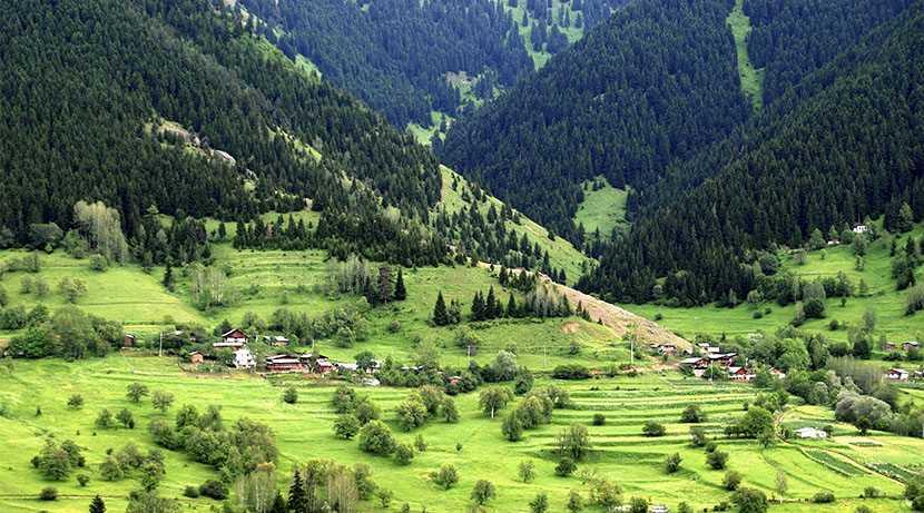 مرتفعات السلطان مراد من اجمل اماكن السياحة في تركيا طرابزون