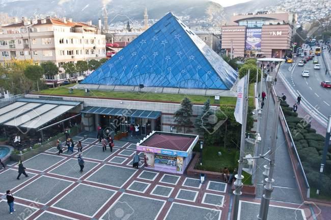 ظافر بلازا من اشهر مراكز التسوق في بورصة تركيا