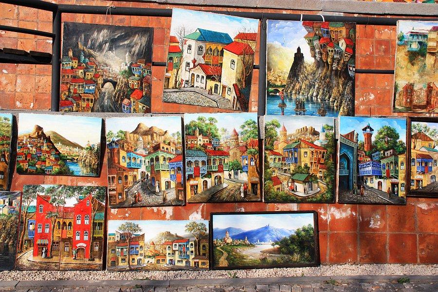 التسوق في تبليسي - سوق البرغوث