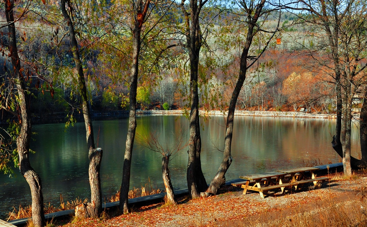 بحيرة كارا غول في انقرة - اماكن سياحية في انقرة