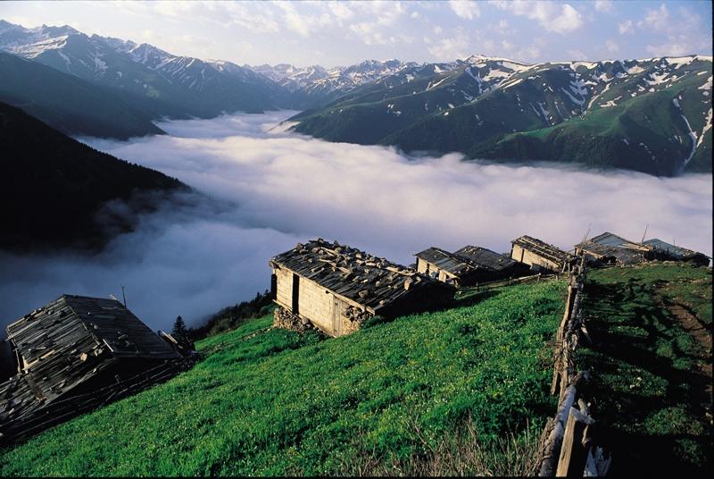 جبال ريزا التركية