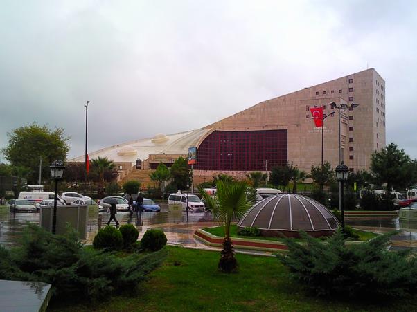 قصر الثقافة في سامسون تركيا