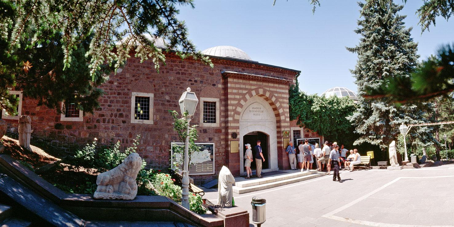 متحف حضارات الاناضول - الاماكن السياحية في انقرة