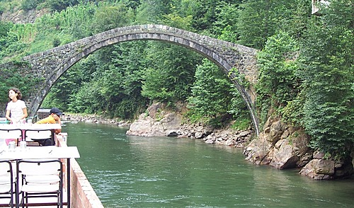 نهر في اوردو تركيا