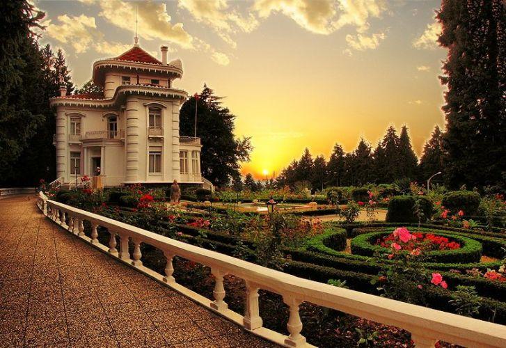 قصر اتاتورك احدى اجمل اماكن السياحة في طرابزون تركيا