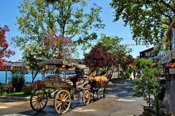 جزر الاميرات من اهم اماكن السياحة في اسطنبول
