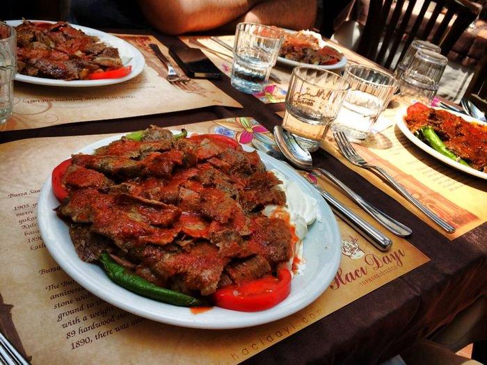 مطعم حجي دايه من اشهر مطاعم بورصة تركيا