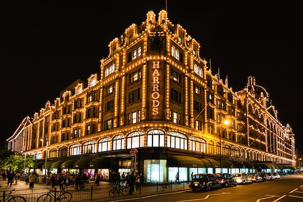 متجر هارودز عنوان للتسوق الراقي في لندن
