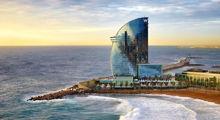 افضل فنادق برشلونه - فندق دبليو برشلونة