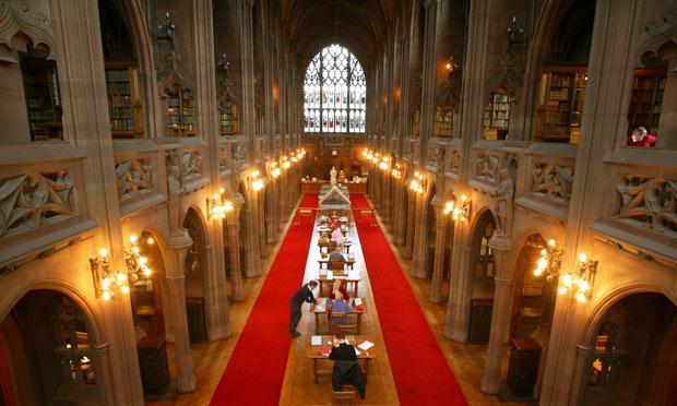 مكتبة جون رايلندز في مانشستر