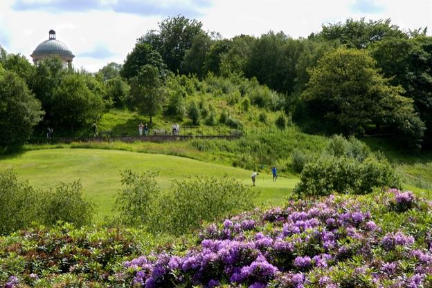 الاماكن السياحية في مانشستر - منتزه هيتون بارك