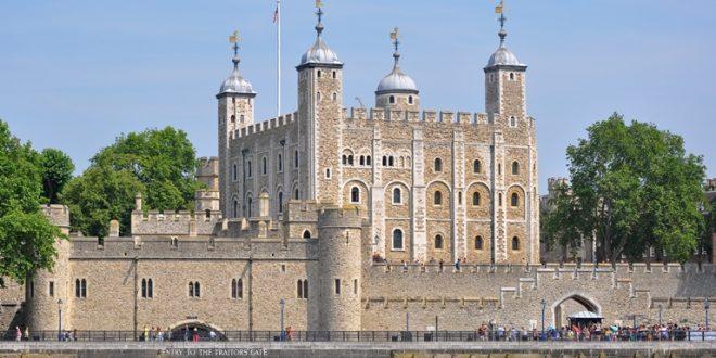 برج لندن في انجلترا