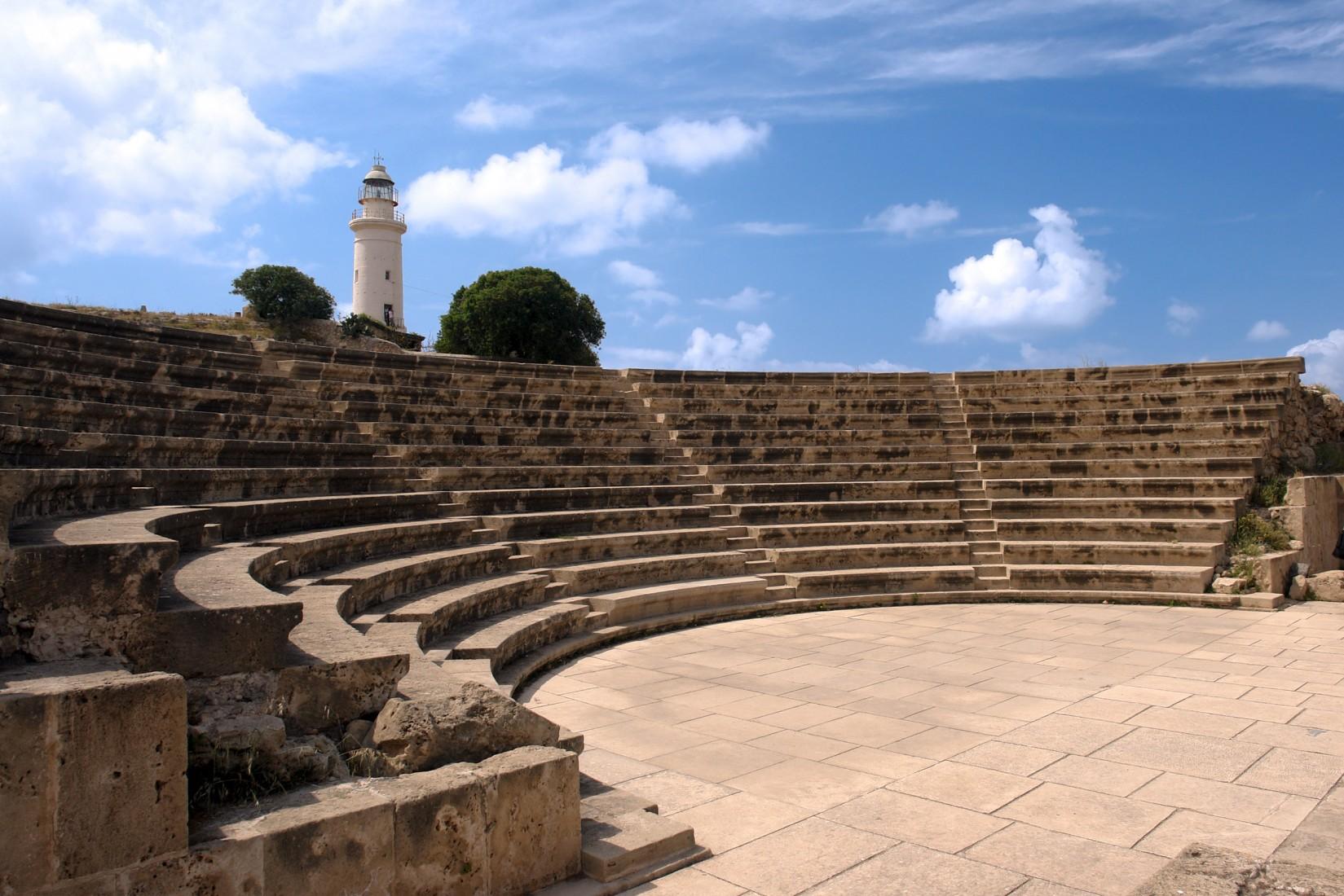 حديقة الاثار في بافوس قبرص