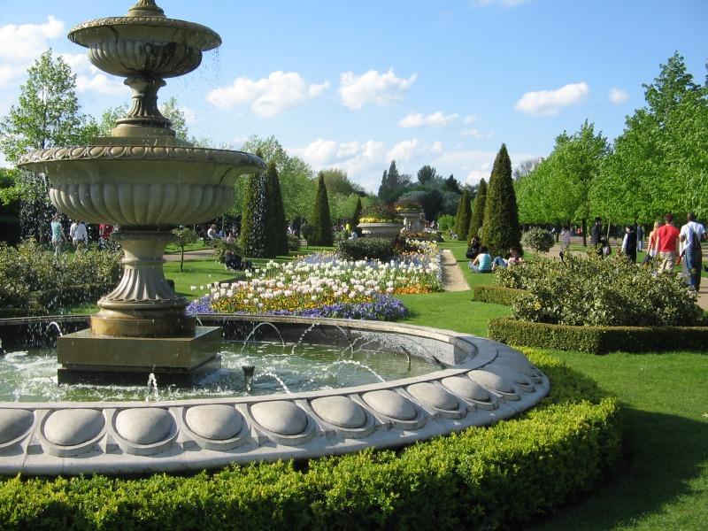 حديقة ريجنت بارك لندن - حدائق لندن