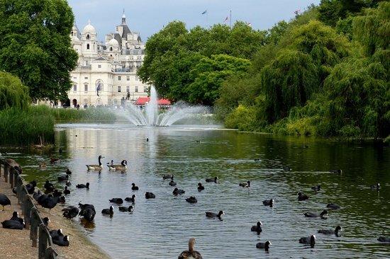 حديقة سانت جيمس بارك في لندن