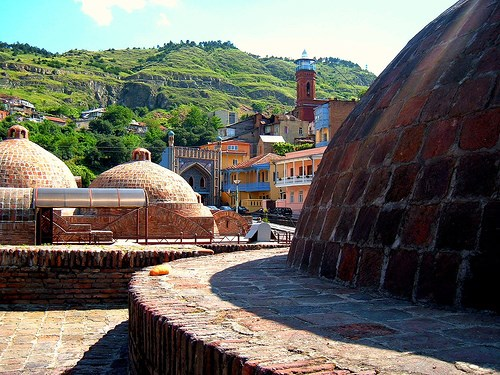 الاماكن السياحية في تبليسي - حمامات اباناتوبني