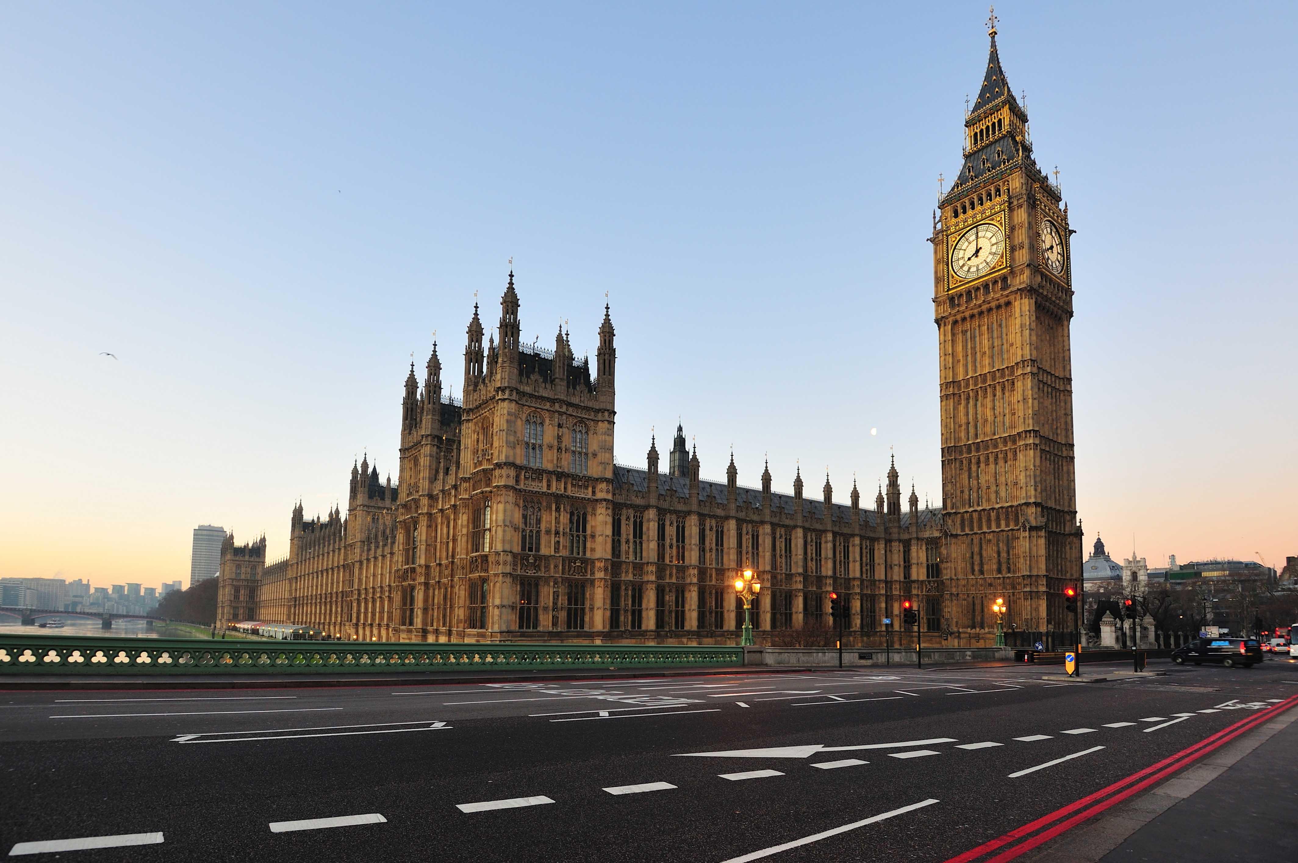 ساعة بيج بن في لندن