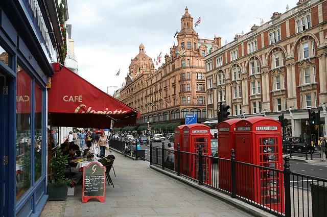 معلومات عن شارع العرب في لندن