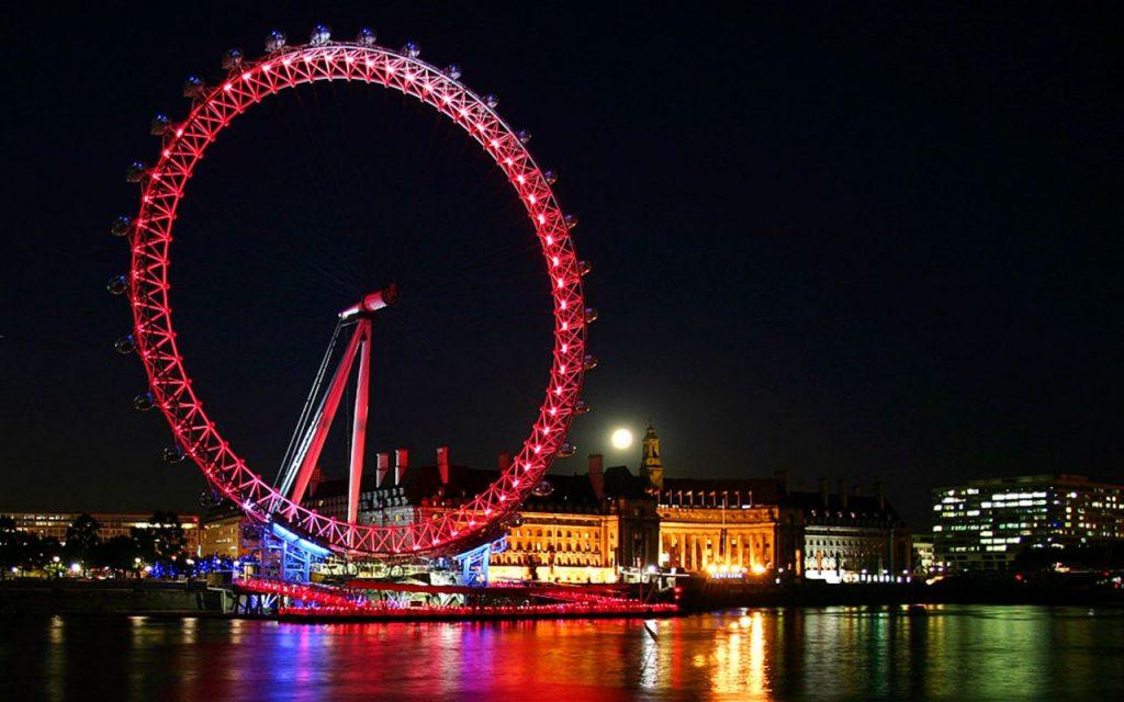عجلة لندن اي
