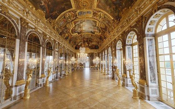 قصر فرساي في باريس - قاعة المرايا