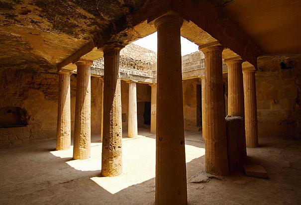 مقابر الملوك في بافوس قبرص