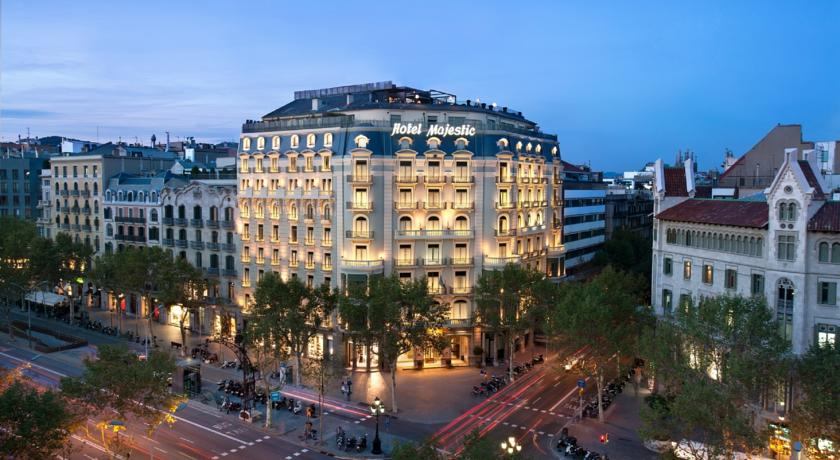 فنادق برشلونه شارع الرامبلا