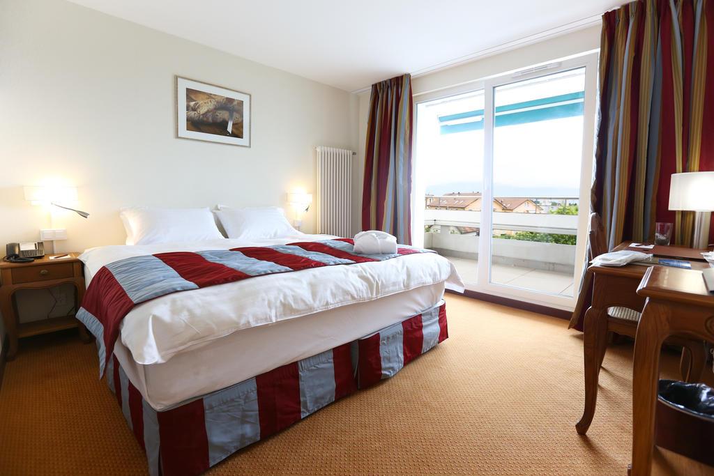 مساحات واسعة توفرها غرف فنادق لوزان