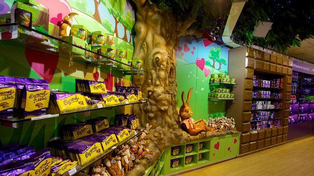 السياحة في برمنجهام - مصنع الشوكولاته في برمنجهام