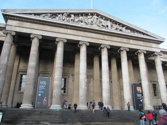 المتحف البريطانى بلندن