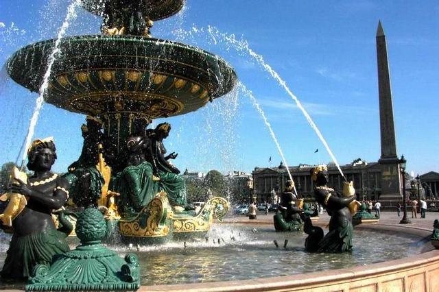 ميدان الكونكورد من اهم الاماكن السياحية في باريس فرنسا