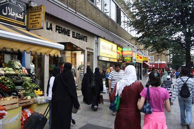 شارع العرب لندن انجلترا