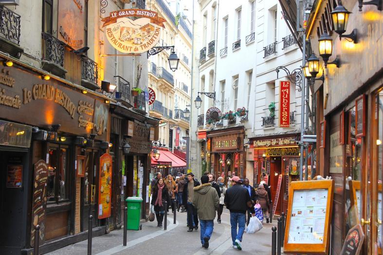 الحي اللاتيني باريس من اهم المناطق السياحية في باريس